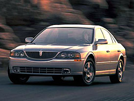 Lincoln LS - Luxus + Výkon