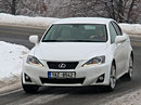 Lexus IS 200d – Sníh a LED
