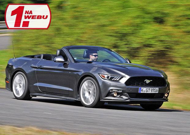 Test Ford Mustang 2.3 EcoBoost Convertible – Návrat ke kořenům  0e6a19c6fa