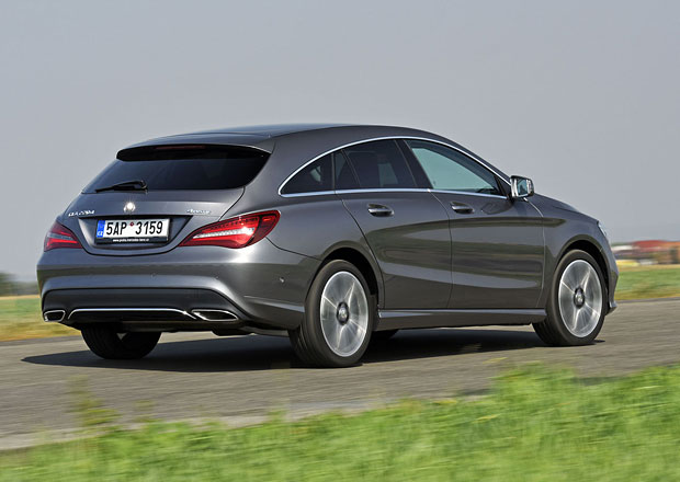 Mercedes-Benz CLA 220d Shooting Brake – Styl. A co k tomu?