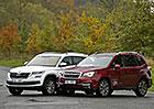 Subaru Forester vs. Škoda Kodiaq – Duel lesníka a medvěda