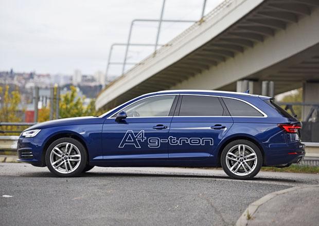 Audi A4 Avant 2.0 TFSI g-tron S tronic – Proč mě plyn zklamal. Trochu