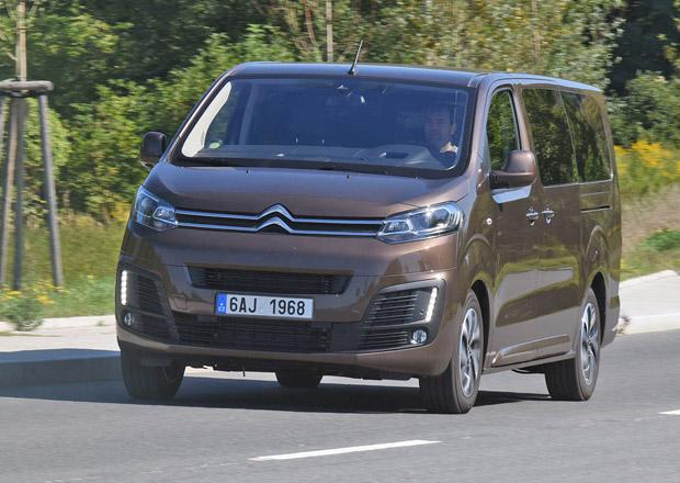 Citroën Spacetourer XL 2.0 BlueHDi – Vpředu business, vzadu párty