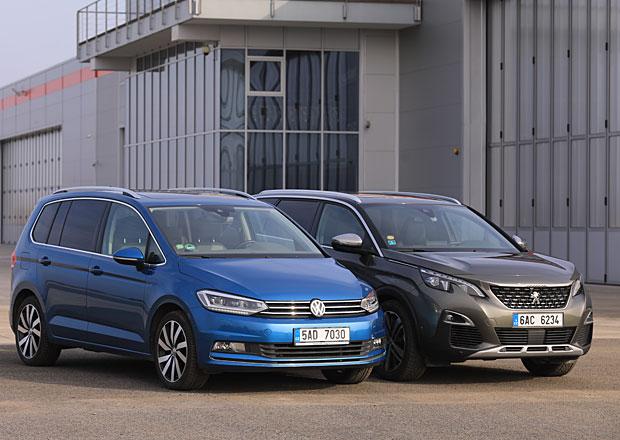 Peugeot 5008 vs. VW Touran – Svěží styl, nebo ověřenou klasiku?