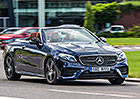 Mercedes-Benz E 220 d 4Matic Kabriolet   –  Nafta a kabrio? Proč ne