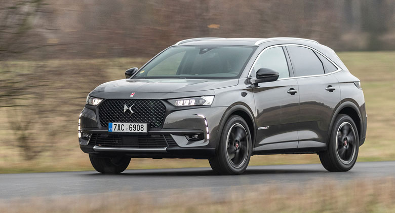 DS 7 Crossback 2.0 BlueHDi 130 kW 8AT – Luxus po francouzsku