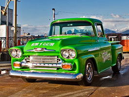 36c38dba6 Retro Electro: 1958 Chevrolet Apache na elektřinu (video)   Autofun.cz