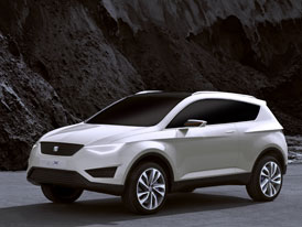SEAT IBX Concept: Dynamický crossover