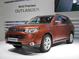 Ženeva živě: Nové Mitsubishi Outlander (autosalonové video)