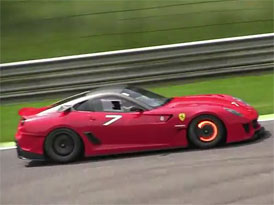 Video: Řvoucí Ferrari FXX a 599XX v Monze
