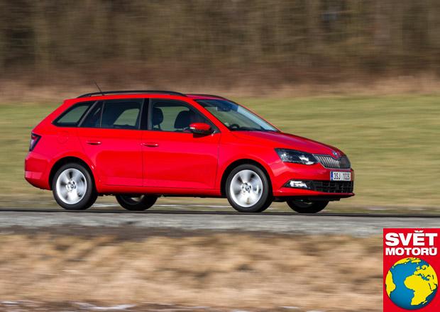 test Škoda fabia combi 1.0 mpi – v zátěžovém testu uvezla 555