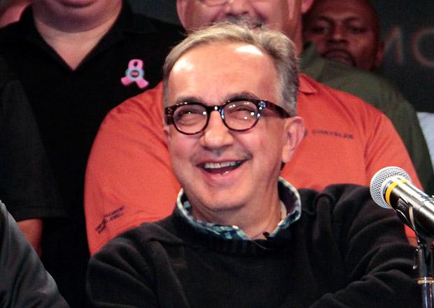 Šéf skupiny Fiat Chrysler si opět vydělal téměř deset milionů eur