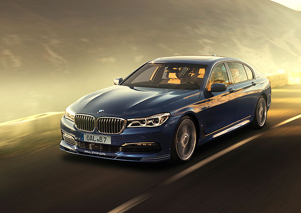 Alpina B7 Bi-Turbo xDrive: Vrchol luxusu a výkonu z Buchloe (+video)