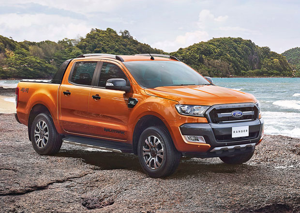 ford ranger raptor ostr pick up nen vylou en. Black Bedroom Furniture Sets. Home Design Ideas