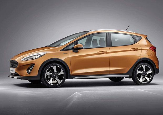 49dbc1079d1 Nový Ford Fiesta můžete mít jako crossover Active i luxusní Vignale ...
