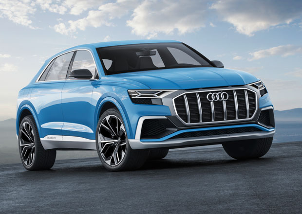 audi q8 ofici ln koncept plug in hybridu m 330 kw a jezd za 2 3 l 100 km. Black Bedroom Furniture Sets. Home Design Ideas