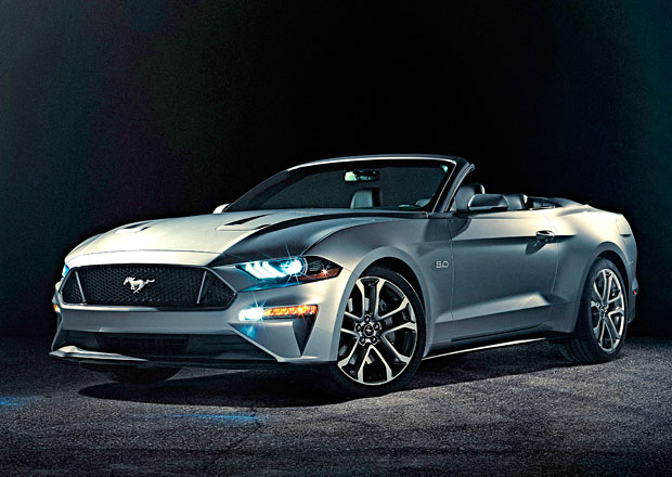 Ford Mustang Convertible: Facelift pro rok 2018