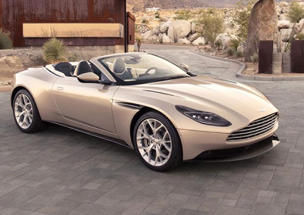 Aston Martin DB11 Volante: Britský krasavec má o čtyři válce méně než předchůdce