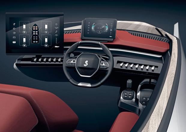 Kam se hrabe i-Cockpit: Peugeot odhalil futuristický koncept, je jím… loď!