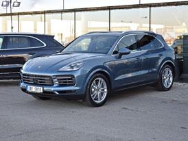 Porsche Cayenne přijíždí na český trh. Okusili jsme špičku SUV ledovce