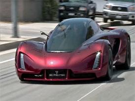 Budoucnost automobilů? Prohlédněte si sporťák vytvoření 3D tiskárnou