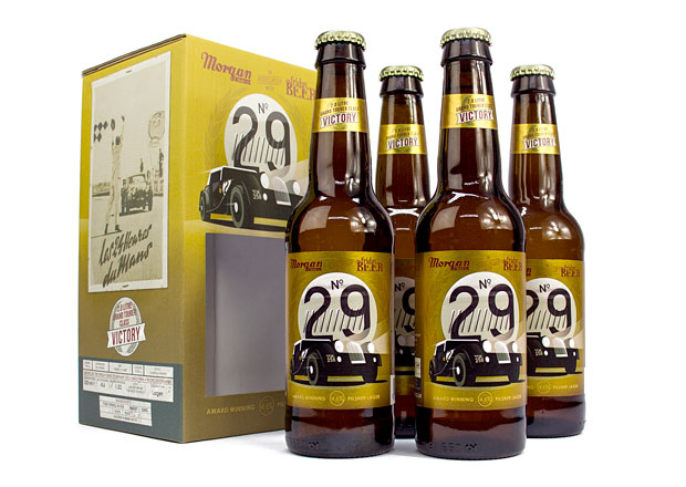 Morgan Motor Company rozšiřuje nabídku o nové pivo plzeňského typu