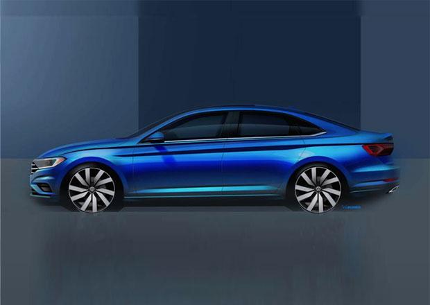 Nový Volkswagen Jetta na prvních snímcích. Co víme o nadcházejícím Golfu sedan?