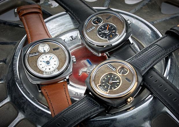Jak využít díly z Fordu Mustang? Udělejte z nich luxusní hodinky...