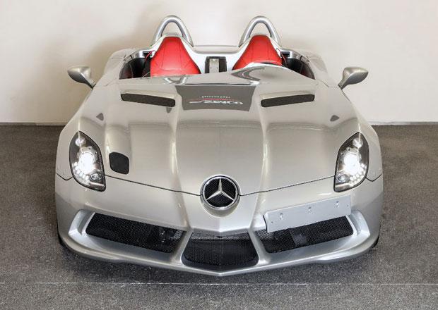 Kupte si vzácný Mercedes SLR Stirling Moss. Je jako nový, ale stojí ranec