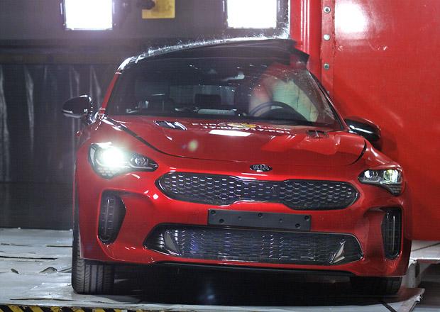 Euro NCAP 2017: Kia Stinger – Pět hvězd pro korejskou zadokolku