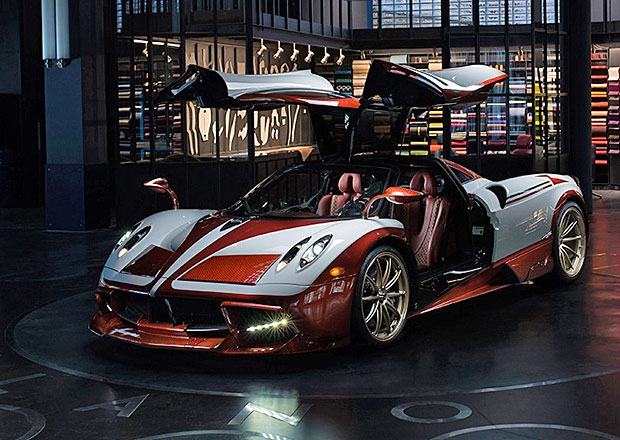 Pagani Huayra Lampo: Blesk vzpomíná na Fiat Turbina