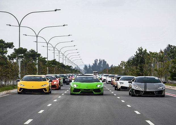 Video: Tolik Lamborghini na jednom místě jen tak neuvidíte! Spočítáte je všechny?