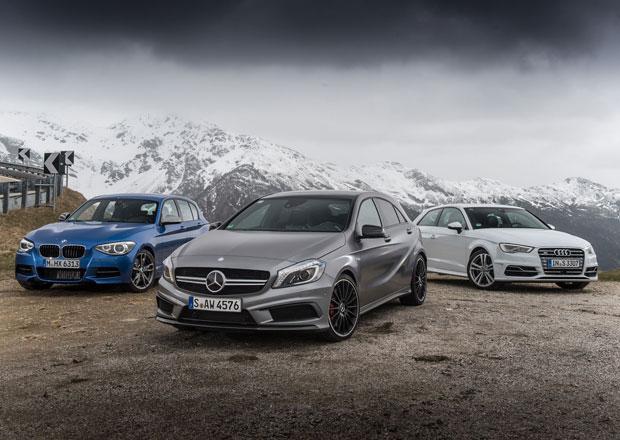Audi vs. BMW vs. Mercedes: Jak skončil boj o nejprodávanější luxusní značku v roce 2017?