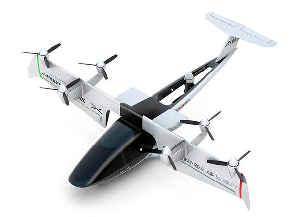 AirSpaceX MOBi-ONE je autonomní létající stroj s vazbou na Ford GT