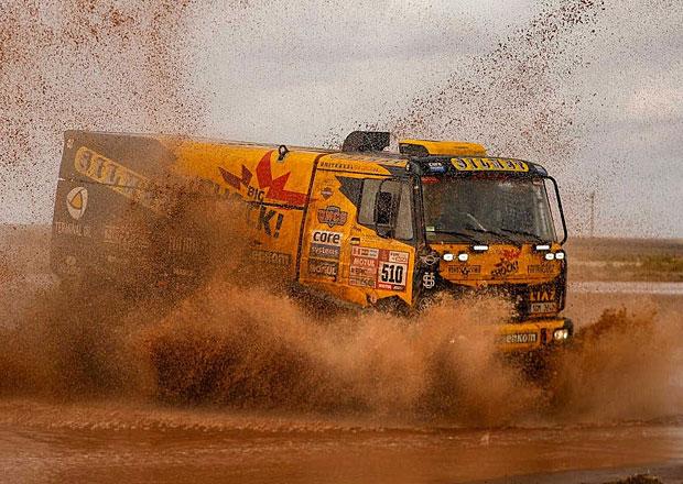 Dakar 2018: Macík bez předního skla