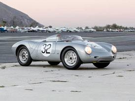 Porsche 550A Spyder je vzácnou limitkou, vydražilo se za rekordní balík