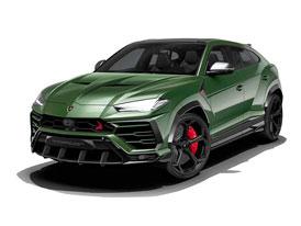 Na Lamborghini Urus se vrhli Rusové. Vypadá podle toho?