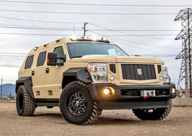 USSV Rhino GX spojuje vzhled pancéřovaného transportéru s luxusem limuzíny