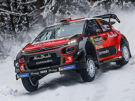 Švédská rallye po RZ16: Neuville blízko výhře