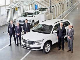 Škoda auto zahajuje v Rusku výrobu SUV Kodiaq