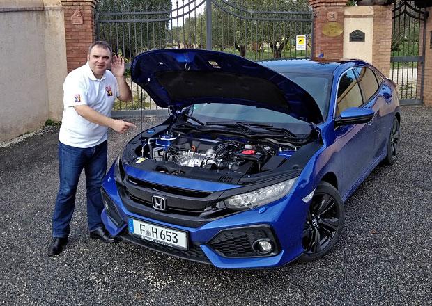 Jízdní dojmy: Honda Civic a Jazz. Nafta ještě žije!