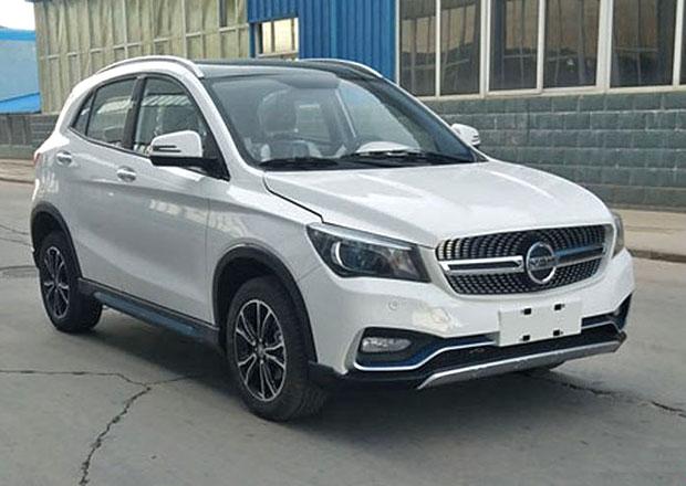 Seznamte se s další čínskou kopií: Elektrický crossover si hraje na Mercedes-Benz GLA