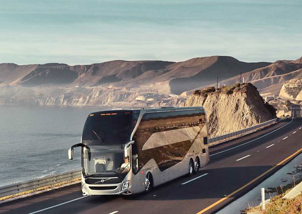 Volvo Buses 9800 DD: Dvě patra autobusové elegance pro Mexiko