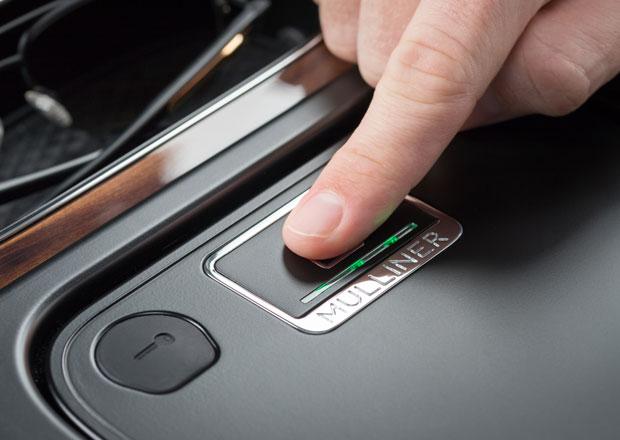 Bentley Bentayga dostane čtečku otisku prstu. K nastartování ale neslouží