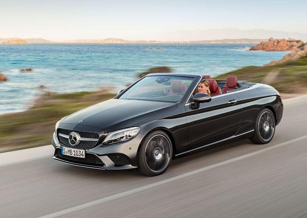 Také Mercedes C kupé a kabrio mají po faceliftu. Nabídnou nový hybrid s patnáctistovkou