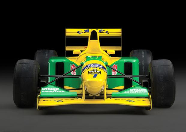 Kupte si formuli Michaela Schumachera z počátku kariéry. Odjel v ní jediný závod