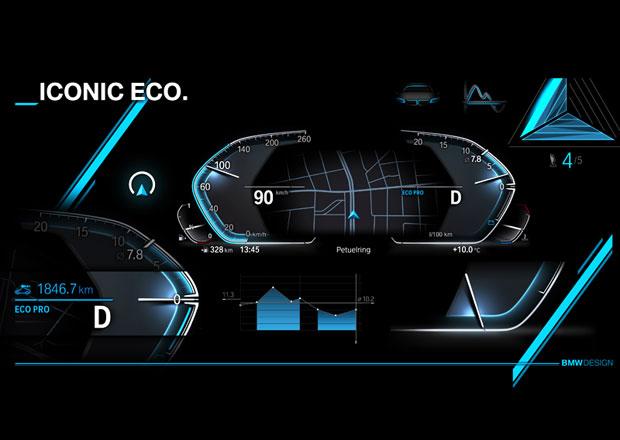 BMW dostanou nový digitální přístrojový štít. Podívejte se, jak bude vypadat!