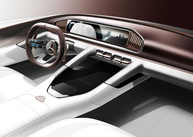 Nahlédněte do interiéru konceptu Mercedes-Maybach. Naznačí nové luxusní SUV