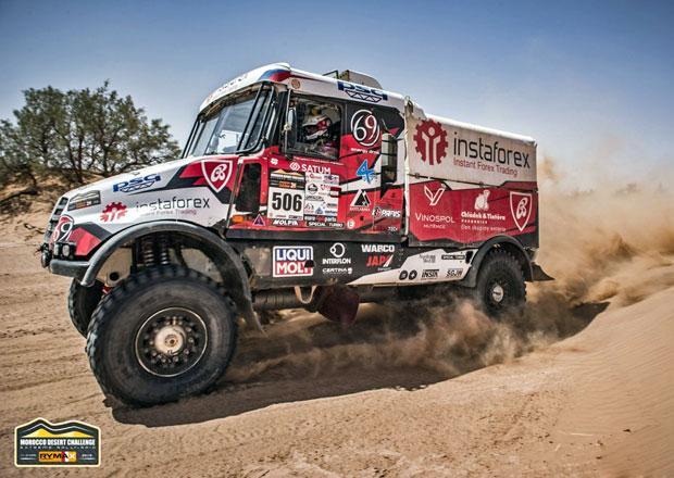 Morocco Desert Challenge: Loprais vyhrál dvě etapy a útočí na výhru