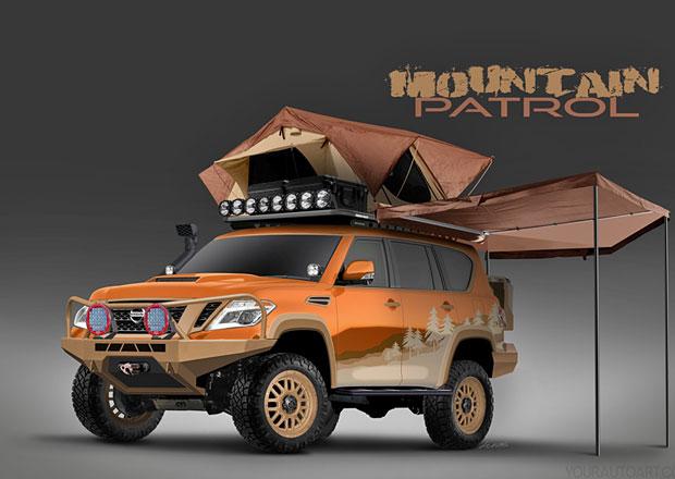 Nissan žádá o pomoc s úpravou vzhledu expedičního SUV Armada Mountain Patrol